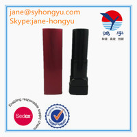 Red empty square lipstick tube sexy
