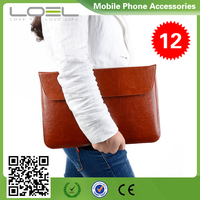 """Notebook Sleeve Laptop Flap Case Bag PU Leather Cover Skin Envelope Style for MacBook Air/Pro 13"""" B044133(1)"""