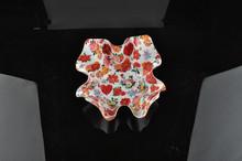 beautiful design plastic platter for fruit snack,dry fruit