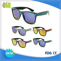 China oem frame free sample sunglasses ray band manufacturer supplier