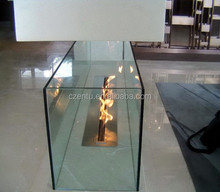Latest designed intelligent bio ethanol fireplace stove for decorate club, hotel, KTV, vila and other entertainment places