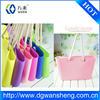 silicone rubber bag factory,hot selling Promotional Rubber Beach Bag