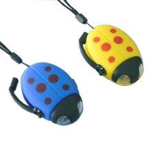 ladybug animal ladybug keychain flashlight