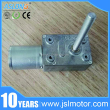 12v 24v Micro Electric Dc Worm Gear Motor Specifications for Servo Motor