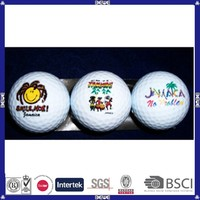 china made high quality custom golf ball