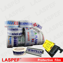 protective film for aluminium profiles,glossy surface,paint surface protection film