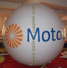 Wholesale 2m diameter PVC advertising balloon giant helium balloons for promotion