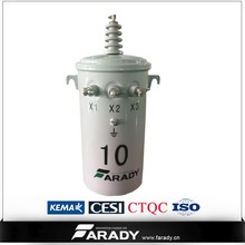 pole mounted single phase power isolation kva transformador 5