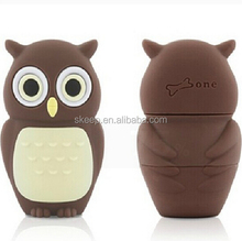 lovely owl animal shape usb flash drive, can use as gift