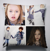 Russian children star Kristina Pimenova pillow, living room decorated square pillow, pillow DIY Christmas gife BZ77