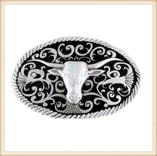 Customized wholesale western style belt buckle