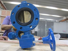 JIS 5K/10K Double flanged butterfly valve ABS approved