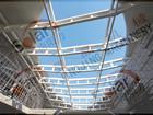 Estrutura de aço pré-fabricada construção de telhas de aço