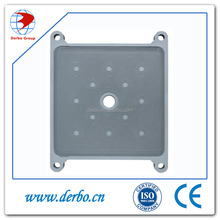 High pressure filter plate