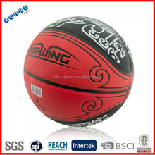 Laminated PU ball high basketball for sale