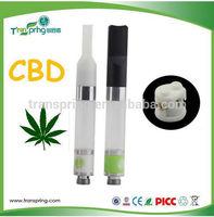 CBD CO2 Hem thick oil 510 vaporizer cartridge E Cigarettes Cbd Tank O Pen Empty Atomizer Cartridges refillable