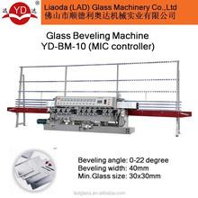 Glass/mirror polishing machine YD-BM-10 PLC