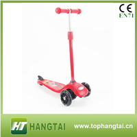New product High Quality universal wheel design plastic scooter Mini Scooter Pink For Sale
