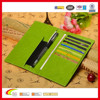2015 Hot Selling High Quality Multifunctional PU Leather RFID Blocking Passport Ticket Holder & Currency Wallet