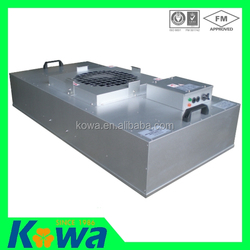 High professional supplier in china for clean room with energy saving fan filter unit ec ffu