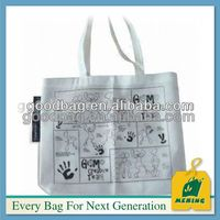 top sale canvas duffel tote bag with outside pockets