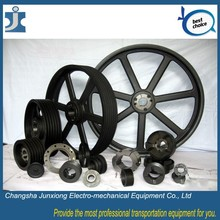 V belt pulley good price aluminum pulley, popular large pulley wheel
