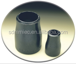 ASTM A234 black iron pipe butt welded fittings