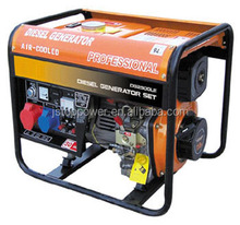 TOPOR China 100% copper Electric Start Diesel Power 3KW 3 phase generator