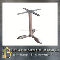 costom metal steel table legs fabrication made in china professional manufacturer
