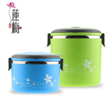 Stainless steel colorful lunch box Food carrier