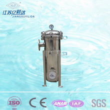 Bag Filter housing applied in commercial and industrial water filtration and purification systems