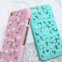 Fashion Beauty Flower Slim Hard Phone Case for iPhone 6