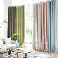 2015 new design jacquard curtain for home decoration