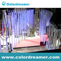 dmx meteor tube light for decoration in KTV /CLUB /CONCERT /THEATRE /STAGE /WINE BAR with new design CE ROHS