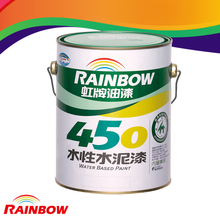 High quality environmental interior decorative wall coating with water base gloss cement paint