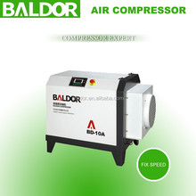 BALDOR compresor de aire a tornillo para uso industrial 7.5kw 10hp eléctrica