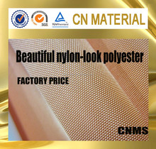 100% polyester oxford fabric looking like nylon with low price and high quality