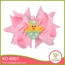 Most selling wholesale new design decoration hair bows made ribbon