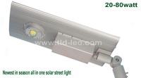 The world's leading 60w integrated solar led street light