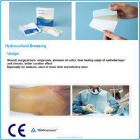 Hydrocolloid Dressing, surgical incise film, surgical drape with hole