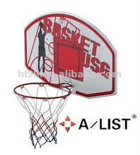 Wall mounted Portable Basketball board Rim