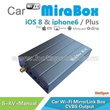 Auto switch OEM/ODM Wireless car wifi mirrorlink mirabox car black box wifi