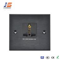JS-WP102 Hotel Room Multi Plug hub/Media Box Wall Socket