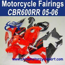 Distribution Welcomed For Honda CBR600RR 05 06 Red Black Fairing Body Kit FFKHD008