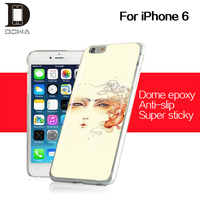 high quality new design epoxy cellphone case epoxy smartphone cellular cover for iphone 6s