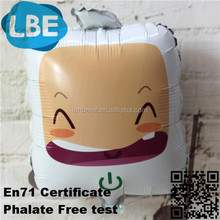 smile square inflated balloon advertising