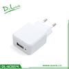 5V 1A White Black Color OEM Single USB Home Charger for Smartphone