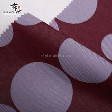 2015 new arrival chenille jacquard woven cotton polyester fabric