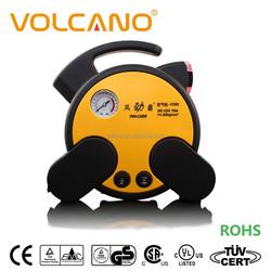 Flat free puncture repair kit tire inflator hign quality car air pump 12v with tire repair tool