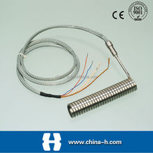 HUAKUI Thermocouple for rubber temperature hot runner heater thermocouple of J K E type